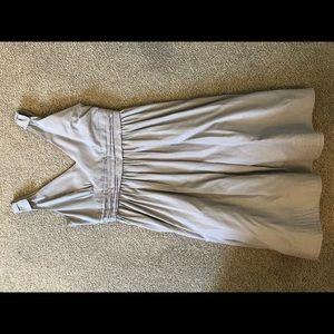 BHLDN size 8 gray dress